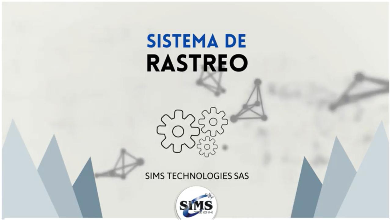 SISTEMA DE RASTREO